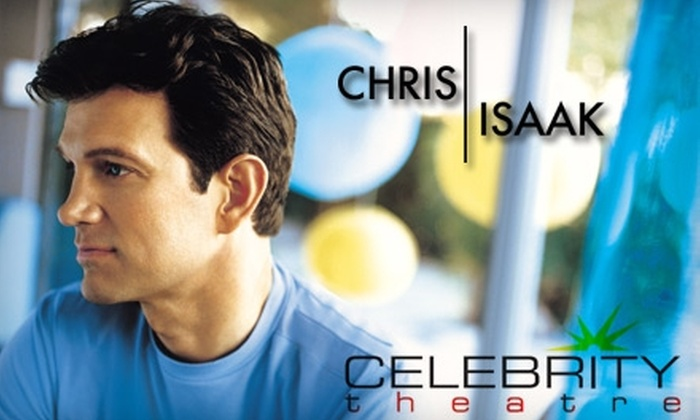 Celebrity Theatre - Central City: $25 for One Ticket to See Chris Isaak Live at the Celebrity Theatre on Thursday, September 23
