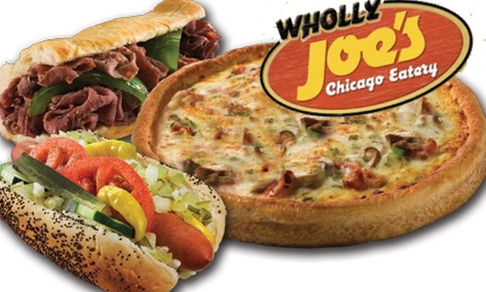 Wholly Joe's Chicago Eatery - Orange: $5 for $10 Worth of Chicago-Style Fare at Wholly Joe's Chicago Eatery