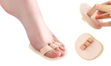 Hasta 4 soportes ortopédico para los dedos de los pies