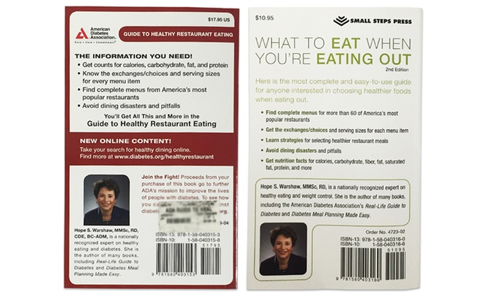 Healthy Dining Books 2 Pk Groupon Goods
