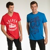 Seven7 Vintage-Style Men's Graphic Tees