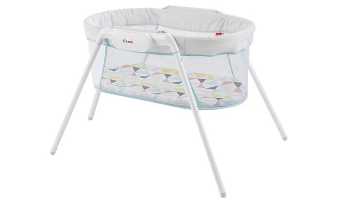 Fisher-Price Stow and Go Portable Bassinet with Calming Vibrations With Free Delivery