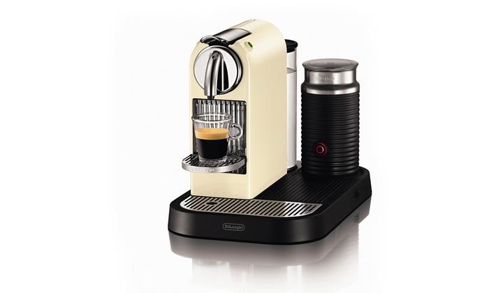 Delonghi Kaffeeautomat Citiz Milk In Creme Nespresso Kompatibel 44 Sparen