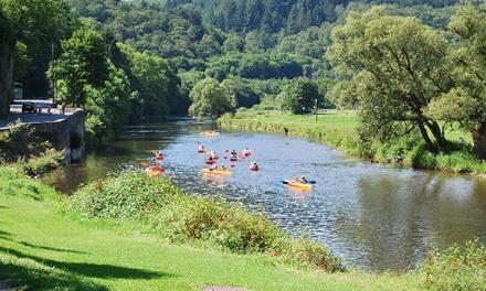 Stand up paddle (+/  1h   4km) ou descente de la Semois en kayak bi places (+/  3h30   15 km) pour 2 pers. dès 19,90 €