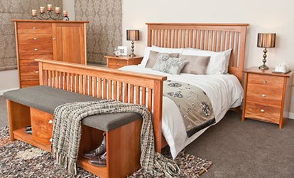 image for $100 for $200 to Spend Towards Floor Stock or $500 to Spend Towards Dining or Bedroom Suites at The Rimu Furniture Store