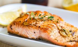 La Padella d'Oro: Menu di pesce fresco con una o 2 bottiglie di vino bianco per 2 o 4 persone a La Padella d'Oro (sconto fino a 70%)