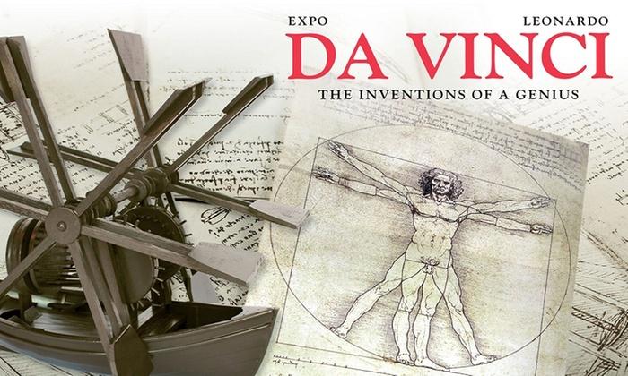 Xpo Center Bruges - Site Oud Sint-Jan: Ticket Expo Leonardo da Vinci pour 1 adulte à partir de 8,99 €