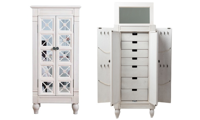 b jewelry armoire deal hives and honey jewelry armoires and mirrors