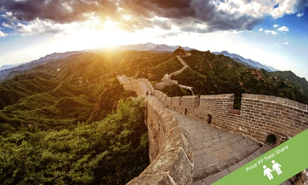 ✈ China: $2,199 Per Person for a 14-Day Getaway to Chengdu, Yangtze River, Xian & Beijing withFlights and Sightseeing