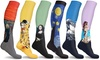 DCF Famous Art Paintings Compression Socks (3- or 6-Pairs)
