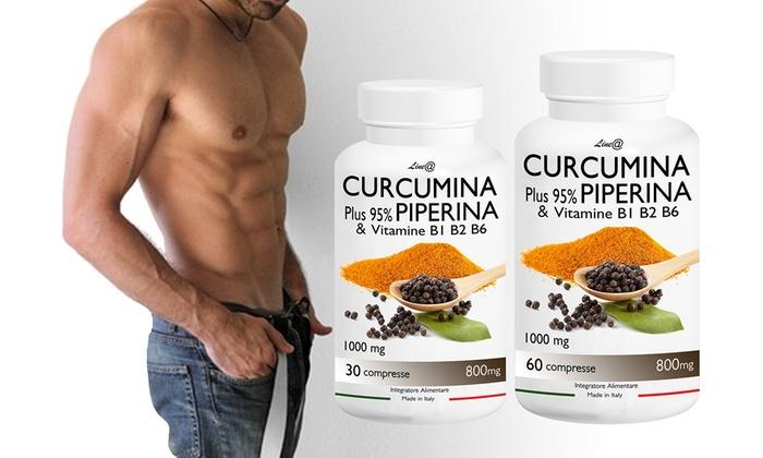 Curcumina e Piperina Lineadiet