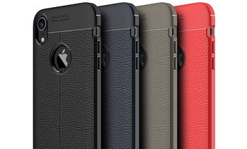 Waloo Textured Leather-Effect Case For iPhone XS, XR, or XS Max