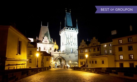 Prague: Up to 4 Nights for Two with Breakfast, Parking and Bottle of Wine at Hotel Pankrac