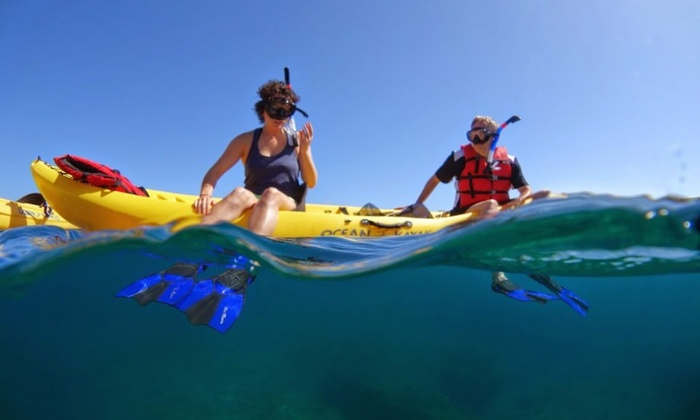 Maui Adventure Tours - Lahaina: 3.5 to 4-Hour Turtle Reef Kayak/Snorkel Tours for 2 or 4 with Maui Adventure Tours (Up to35% Off)