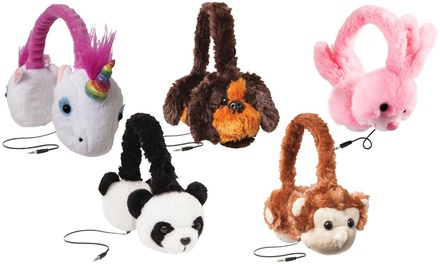 Jamsonic Plush Animal On-Ear Headphones
