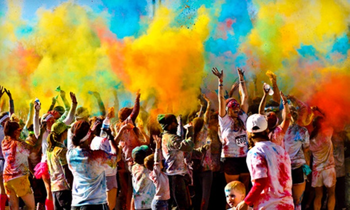 Color in Motion 5K - Central: $25 for Registration for One to Color in Motion 5K (Up to $50 Value)