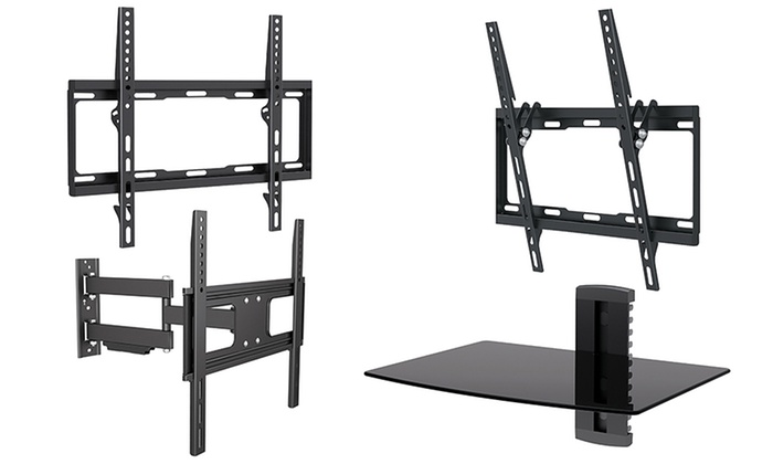 Full Motion Tv Wall Mount Reviews argom tv wall mounts | groupon goods
