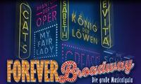 """""""Forever Broadway"""" – Die große Musical-Gala am 26. und 27. Dezember in der Philharmonie am Gasteig (bis zu 36% sparen)"""