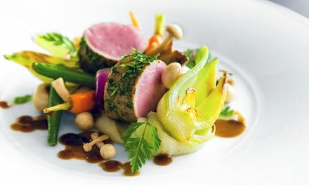 Menu du Chef en 4 services pour 2 ou 4 personnes dès 44,99 € au restaurant La Ferme des Oliviers