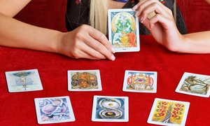 Superior Psychic: One or Two Psychic-Reading Packages with Aura, Palm, and Tarot-Card Reading at Superior Psychic (Up to 85% Off)