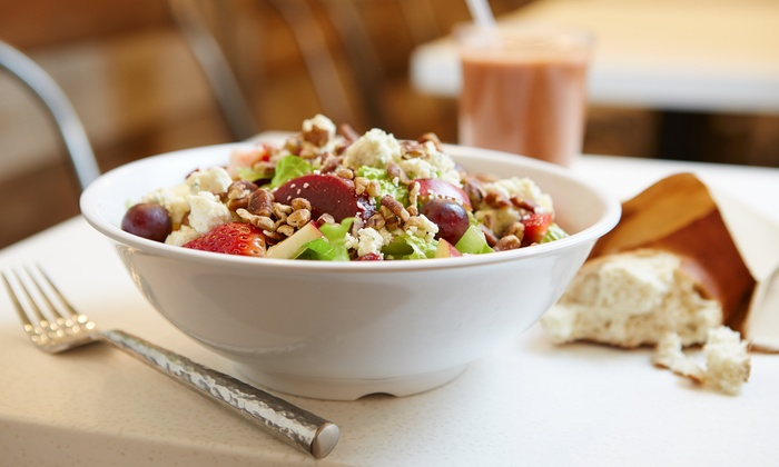 Mercer Greens - Town Center: $11 for Two Gourmet Salads at a Summer Concerts in the Park Event from Mercer Greens ($20 Value)