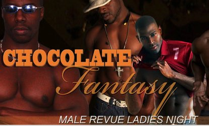 Chocolate Fantasy XXL Male Revue on Friday, July 27, at 9 p.m.