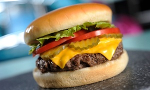 Diner Food at Hwy 55 Burgers Shakes & Fries (Up to 57% Off)