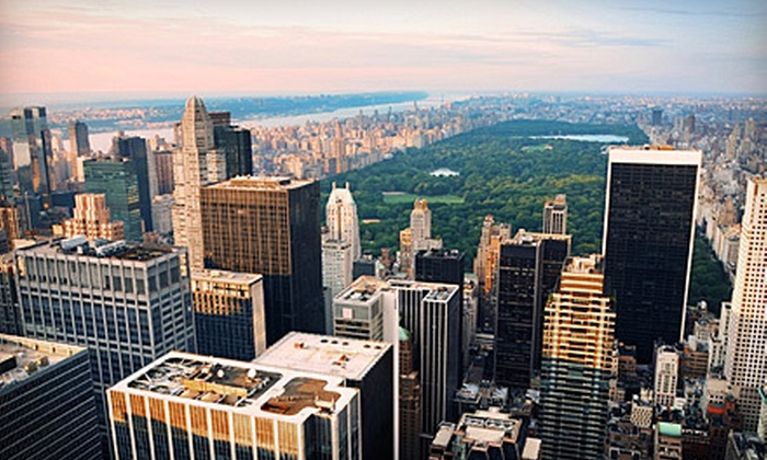 NYSee Tours - Theater District - Times Square: $40 for a Five-Hour Get Acquainted Tour of New York City from NYSee Tours (Up to $100 Value)