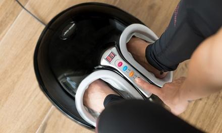 Appareil de massage des pieds shiatsu et pressothérapie Eco De