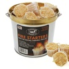 All-Natural Fire Starter Pods in Galvanized Steel Bucket (20-Pack)