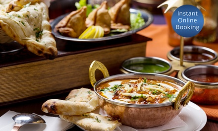 Indian Banquet with Wine for Two $39, Four $75 and Six People $109 at Chawlas 2 Werribee Up to $244.05 Value