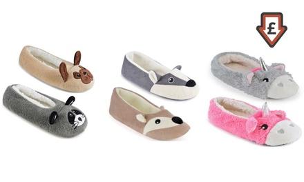 Women's Animal Ballet Slippers