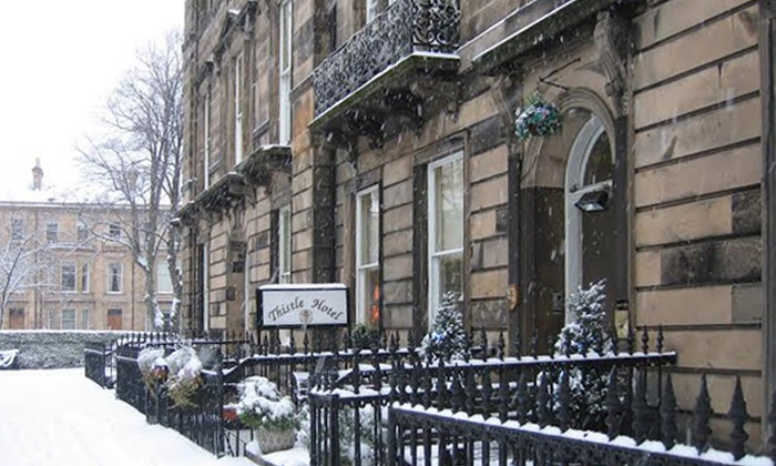 Edinburgh Thistle Hotel 1 Or 2 Nights For Two With Breakfast