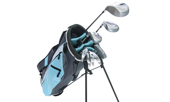 women 39 s 12 piece golf set groupon goods. Black Bedroom Furniture Sets. Home Design Ideas