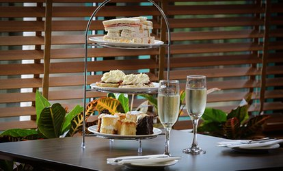 image for Traditional or Sparkling Afternoon Tea with Health Club Access for Two or Four at 4* Cedar Court Hotel (Up to 52% Off)