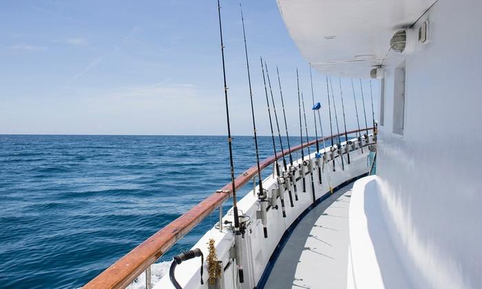 Deep sea fishing trip deep sea fishing aboard the for Groupon deep sea fishing