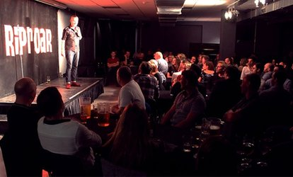 image for Riproar Comedy Show with Meal on 21 October - 2 December at Riproar Comedy (Up to 55% Off)