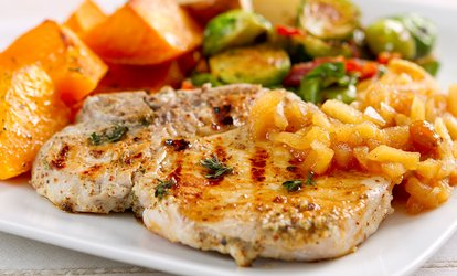 image for Catered Dinner with Drinks for Up to 6 or 12 People Delivered to Your Home from Cookin Calvin (Up to 76% Off)