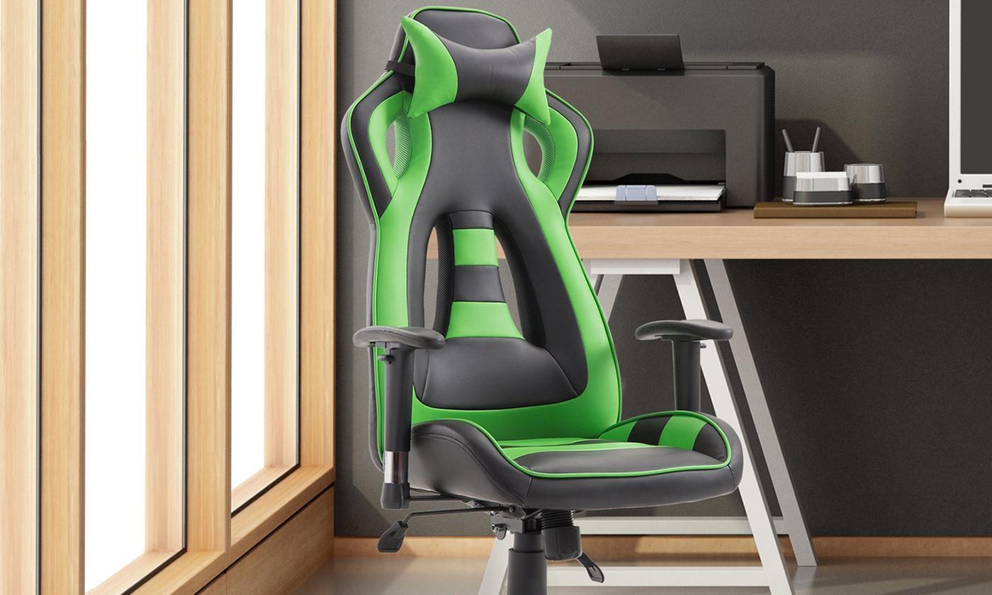 HomCom Ergonomic PU Gaming Chair