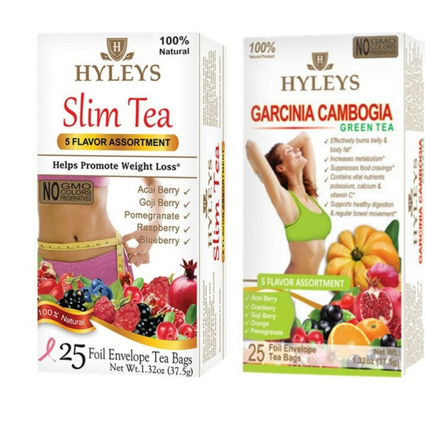 Up To 16 Off On Hyleys Cleanse Teas 3 Pack Groupon Goods