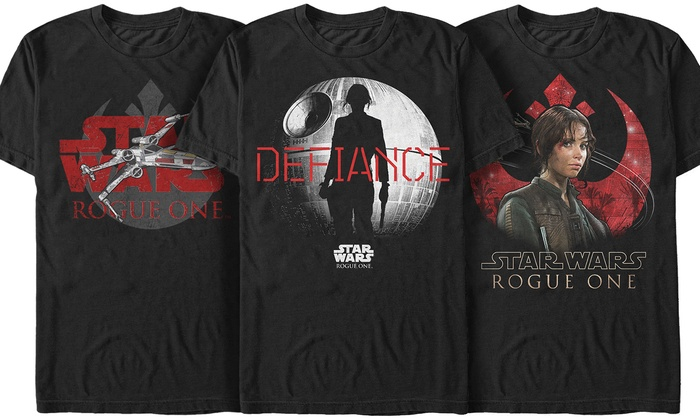 Men's Star Wars Rogue One Rebel 1 T-Shirts