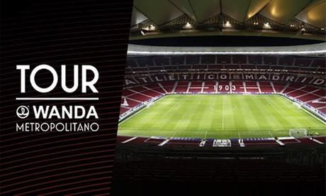 Consigue un 30% de descuento en entradas para el Tour Wanda Metropolitano