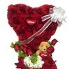 Valentine's Pure Romance Heart Bouquet
