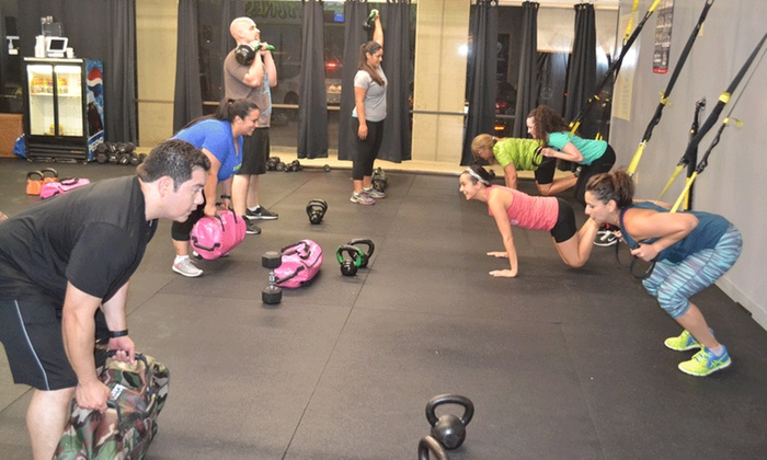 Turn Up Fitness - Leon Valley: Four Weeks of Unlimited Boot-Camp Classes at Turn Up Fitness (65% Off)