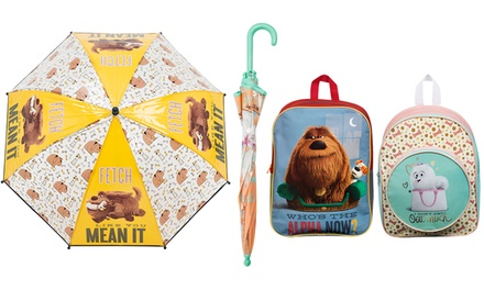 Boys or Girls Secret Life of Pets Products from £4.99
