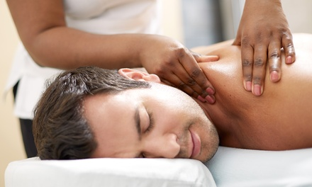 Custom Swedish Massage or Bamboo Massage with Consultation at Renewed Wellness (Up to 51% Off)
