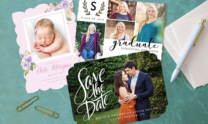 Up To 74% Off on Custom Photo Cards | Groupon Goods