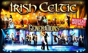 "Indigo-Productions: 1 place pour le spectacle ""Irish Celtic""  le 11 novembre 2016 à 39 €"