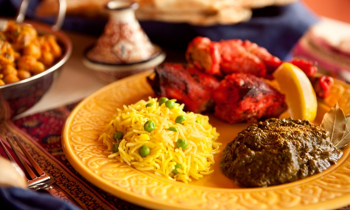 Tandoori's Royal Indian Cuisine - Amherst: Fine Indian Cusine and Drinks for Two or Four at Tandoori's Royal Indian Cuisine (Up to 53% Off)