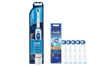 Recambios originales precisión Clean de Oral B con y sin cepillo eléctrico Advance Power 400 de Braun Oferta en Groupon